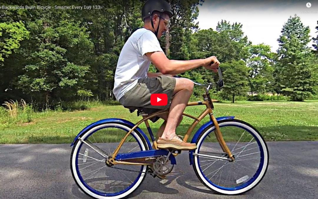 Backwards brain bicycle